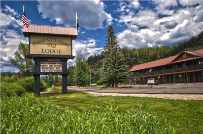 High Country Lodge Front