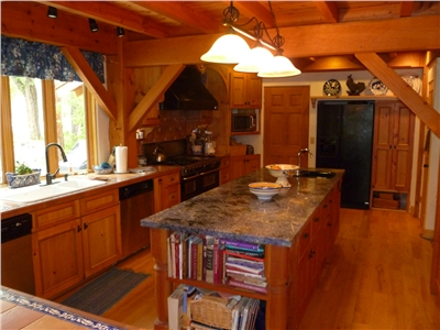Gourmet Kitchen in the Main House