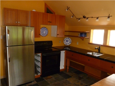 New Kitchen in the Cozy Couples Retreat