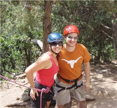 Climbing at X-Rock