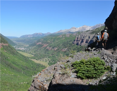 Telluride Via Ferrata Overlook