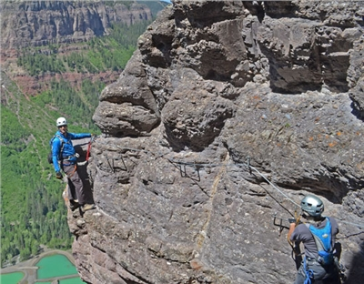 The Telluride Via Ferrata Adventure