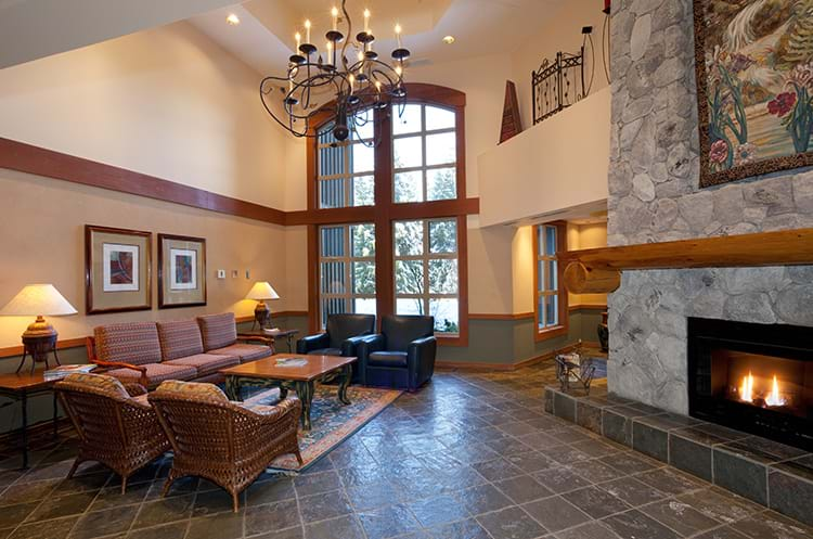 Lost Lake Lodge Lobby