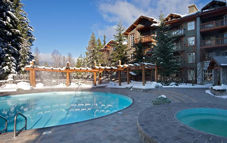 Lost Lake Lodge Pool/Hot Tub Winter