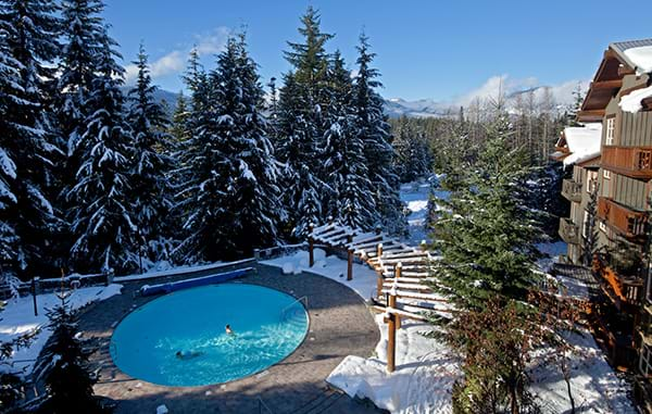 Lost Lake Lodge Pool Winter