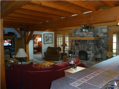 Huge Living Room in the Main House