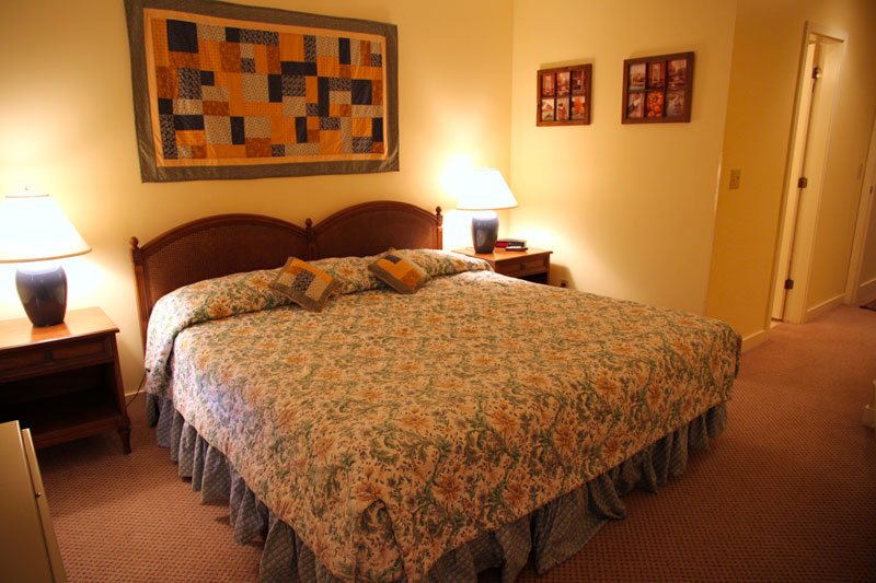Typical bedroom at Vantage Point