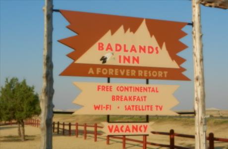 Badlands Inn   Interior SD