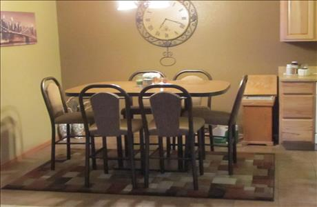 Crawford Home Dining Area - Rapid City SD
