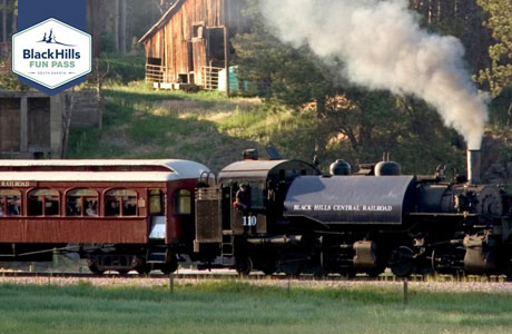 Black Hills Fun Pass - 1880 Train - Hill City SD