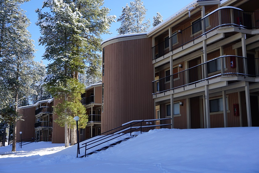 Beaver Village Condo Winter Exterior