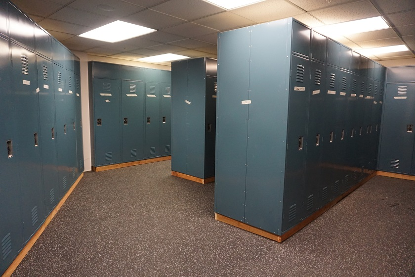 Ski Locker Room