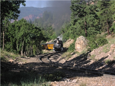 View of Train From Pine Acres