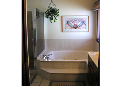Pines 1 Master Bath Jetted Tub