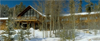 Winter time at Woodspur Lodge