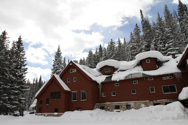 Timberhouse Ski Lodge Winter Exterior