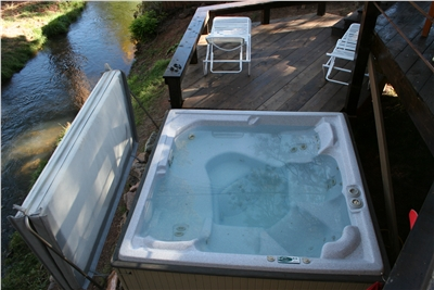 Your very own hot tub