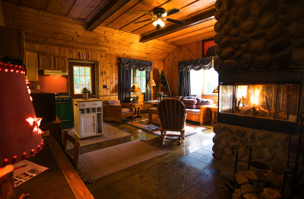 Our April Melody chalet. See below for all of our lodgings!