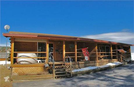 Sturgis motorcycle rally legends log cabin suites for Cabins near deadwood sd
