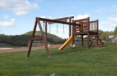 Mountain View Lodge and Cabins Play Area - Hill City SD