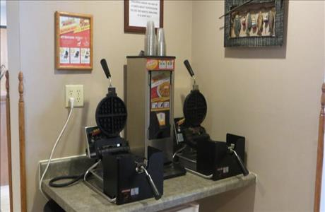 Super 8 Breakfast Waffle Area - Spearfish SD