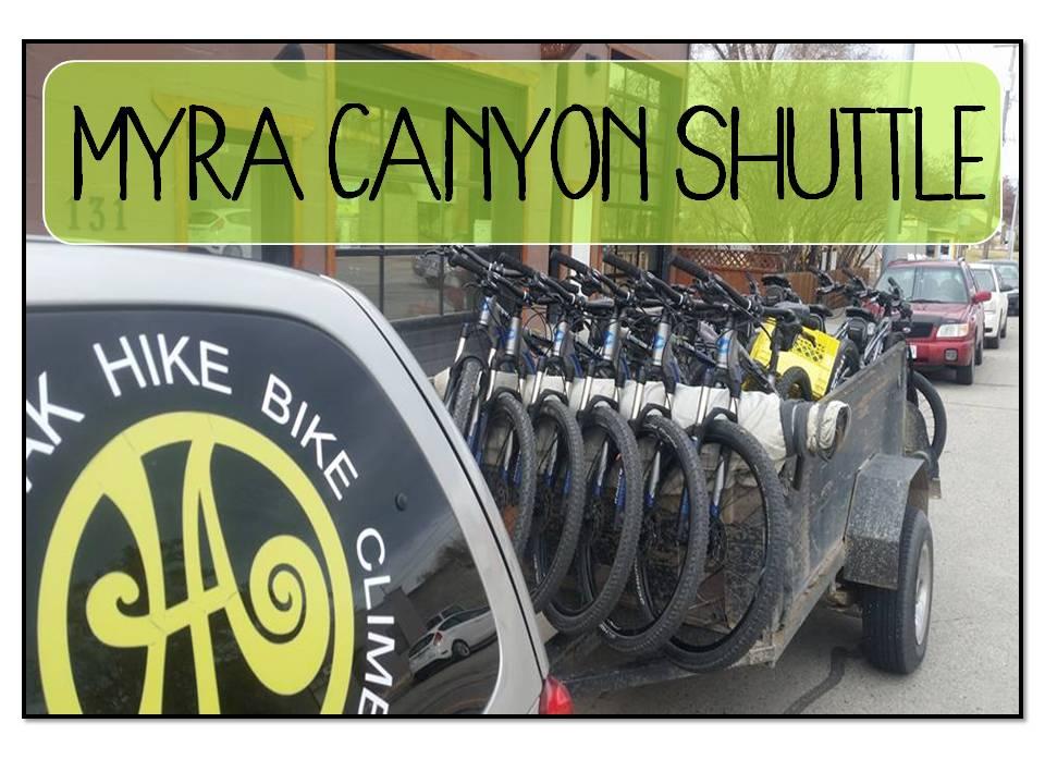 Shuttle - Myra Canyon
