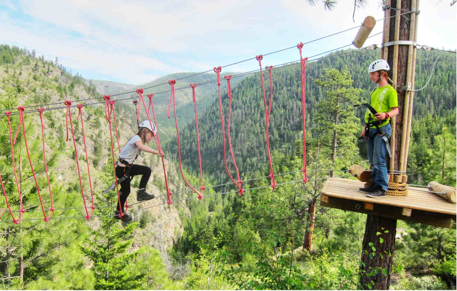 Myra Canyon Adventure Park: Kinder Course