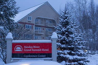 Grand Summit Hotel Winter Exterior