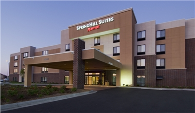 Exterior Springhill by Marriott Hotel Sioux Falls South Dakota