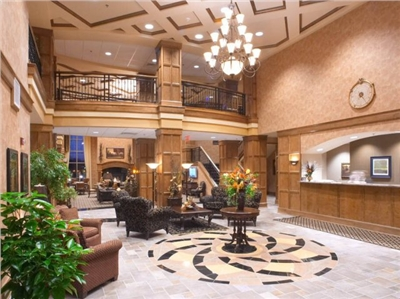 Lobby Clubhouse Hotel and Suites Sioux Falls South Dakota