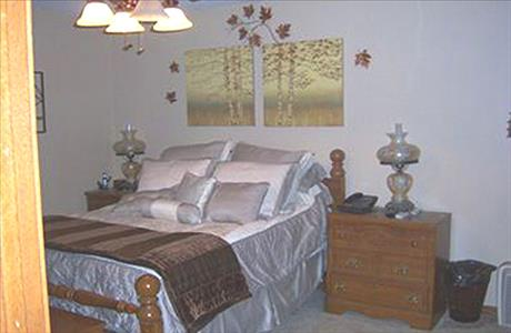 Rosenau Home Bedroom - Spearfish SD