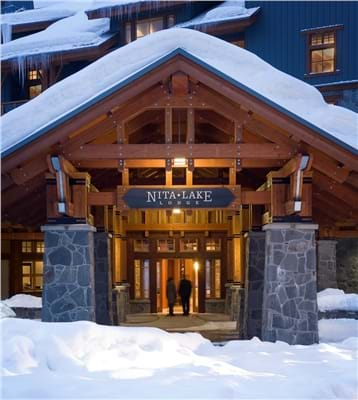 Nita Lake Lodge Entrance